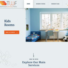 Website Launch for Technical Window Film